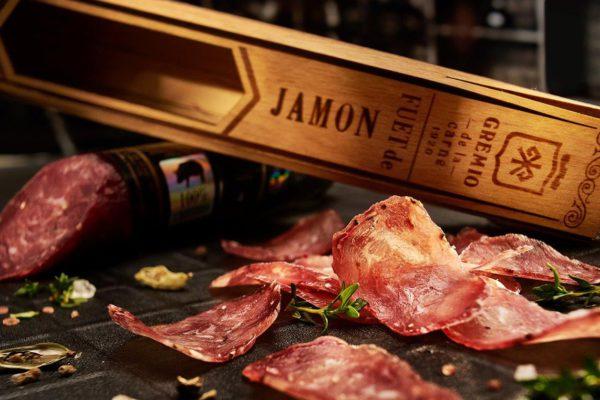 Fuet de JAMON (Фуэт де Хамон) Gremio de la Carne